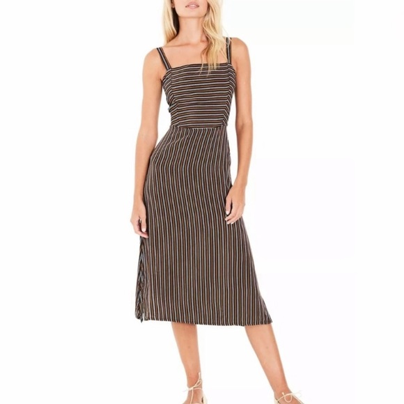 Free People Dresses & Skirts - Faithfull The Brand Katergo Striped Midi Dress